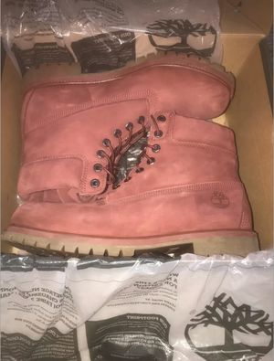 Men's Burgundy Timberland Boots for Sale in Naperville, IL