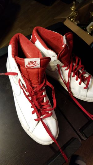 Nike Size 13 leather basket ball shoes for Sale in Oxon Hill, MD