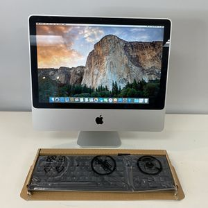 Apple iMac 🖥 20 Inch All In One Computer Desktop Runs Great Warranty Included for Sale in Huntington Beach, CA
