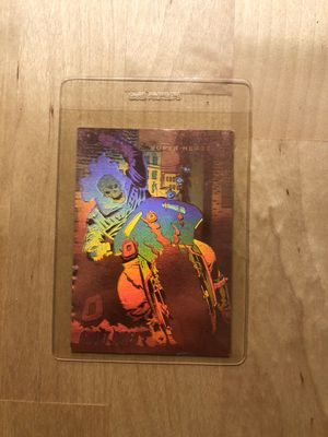 Marvel ghost rider collectible hologram card for Sale in Los Angeles, CA
