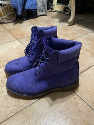 Timberland blue boot shoes size 11 for Sale in Sunrise, FL
