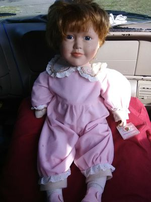 Antique doll the rose collection name agarha for Sale in Milton, FL