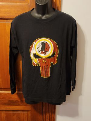 Redskins/Punisher Long Sleeve Shirt for Sale in Middletown, MD