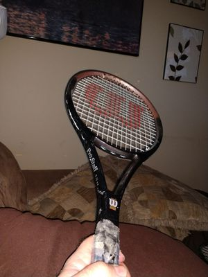 Wilson prostaff 5.9 tennis racket. Tour Diablo triple threat (CHECK OUT MY PAGE FOR MORE) for Sale in Greensboro, NC