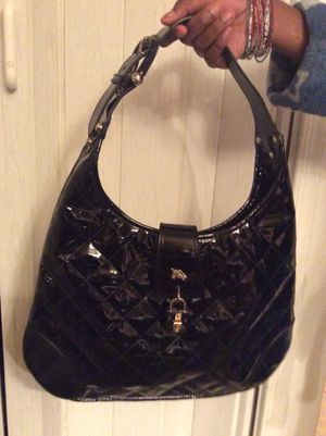 BURBERRY QUILTED PATENT LEATHER BAG 💼 for Sale in Adelphi, MD