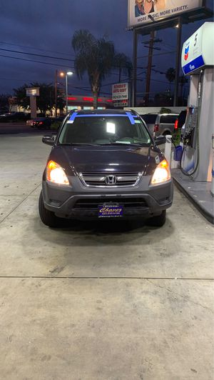 Honda 02 crv fully loaded for Sale in View Park-Windsor Hills, CA