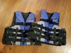 2 mens life jackets for Sale in Spokane, WA