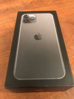 Apple iPhone 11 Pro 64GB space gray AT&T or Cricket new in box 📦 for Sale in Clovis, CA
