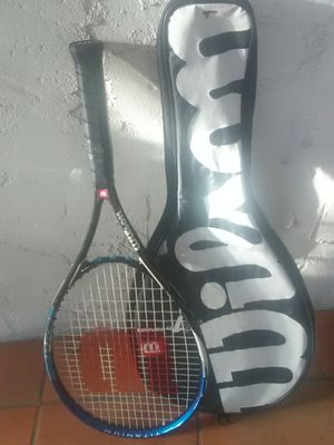 Wilson Impact titanium volcanic tennis racket and case for Sale in Los Angeles, CA