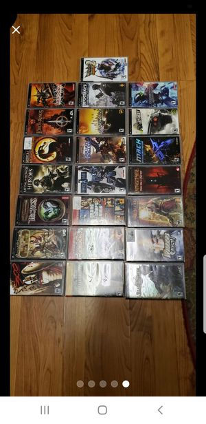 23 assorted PSP games for Sale in Farmville, VA