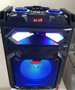 Bluetooth karaoke speaker for Sale in North Las Vegas, NV