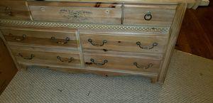 Antique wood little girls bedroom furniture for Sale in Forestville, MD