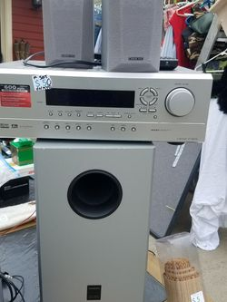 Onkyo Receiver, Speakers And Woofer for Sale in Sandy,  OR