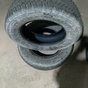 2 Tires Bridgestone Newer P255/70R18 for Sale in Reston, VA