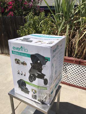 Evenflo Folio3 Stroll & Jog Travel System for Sale in Highland, CA