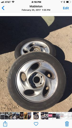 Original 92-2001 Pontiac and Chevy rims for Sale in Smyrna, GA