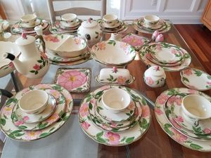 Franciscan desert rose antique china for Sale in New Hope, PA