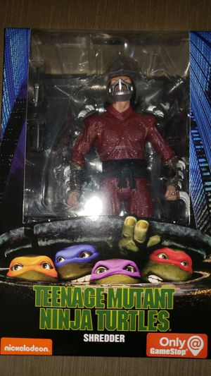 Neca Gamestop Teenage Mutant Ninja Turtles Movie Shre6 for Sale in Chicago, IL
