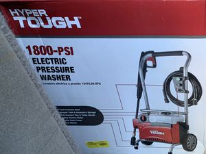Hyper tough 1800 psi electric pressure washer for Sale in New York, NY