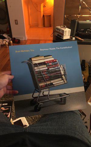 BRAD MEHLDAU TRIO SEYMOUR READS THE CONSTITUTION VINYL 2 LP SET for Sale in Nashville, TN