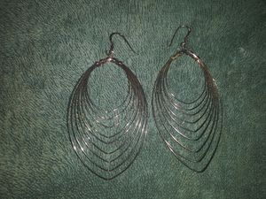 Sterling silver earrings for Sale in White, GA