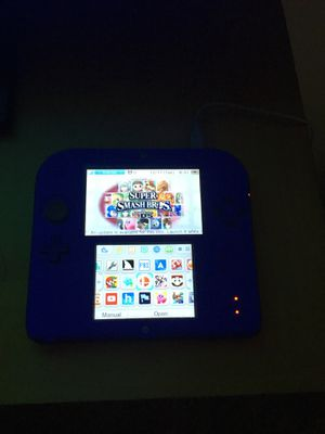 Condition new barely used Nintendo 2ds modded with games installed for Sale in Norwalk, CA