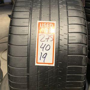 Tires 275/40/19 Michelin for Sale in Opa-locka, FL