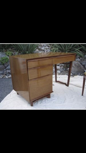 Beautiful mahogany mid-century modern desk -$400 or best offer for Sale in Alexandria, VA