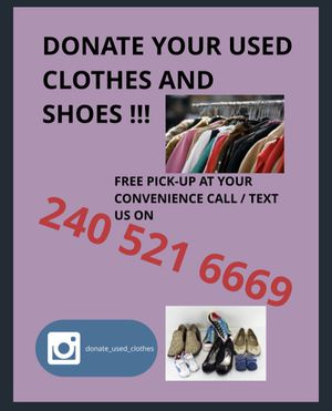 Donate Used Clothes for Sale in Upper Marlboro, MD