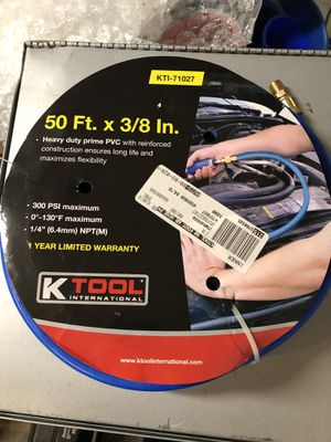 KTI-71027 50 ft. 3/8 heavy duty air hose for Sale in Bolingbrook, IL