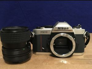 Nikon fm10 with lense student camera for Sale in Pittsburgh, PA