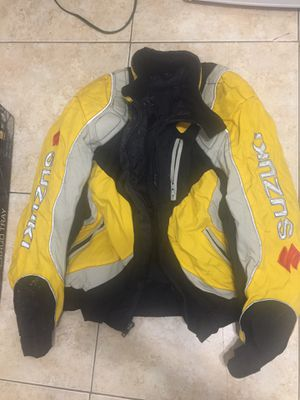 Motorcycle jacket Suzuki XL best offer or open to trade for Sale in Miami, FL