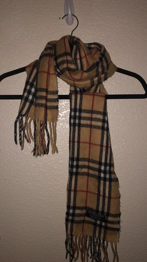 Authentic Burberry scarf for Sale in Elk Grove, CA