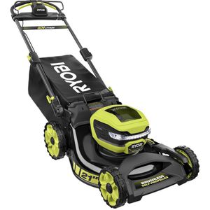 RYOBI 21 in. 40-Volt Lithium-Ion Brushless Cordless Walk Behind Self-Propelled Mower with 7.5 Ah Battery/Charger Included for Sale in Bakersfield, CA