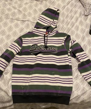 Supreme Striped Hoodie for Sale in Spring Hill, TN