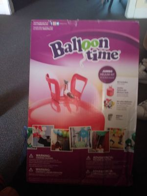 Balloon time jumbo helium kit (is empty) for Sale in Lebanon, PA