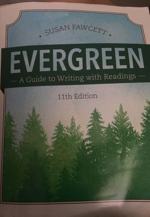 Evergreen, Susan Fawcett, 11th Edition for Sale in Starkville, MS