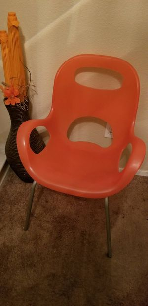 Orange Retro chair for Sale in Antioch, CA