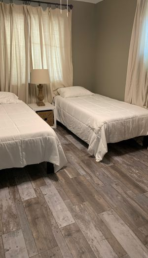 Brand new twin size mattress and frame for Sale in Norwalk, CA