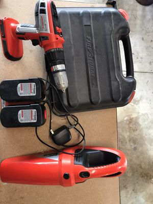 Firestorm Cordless Drill and Vacuum Set for Sale in Anaheim, CA