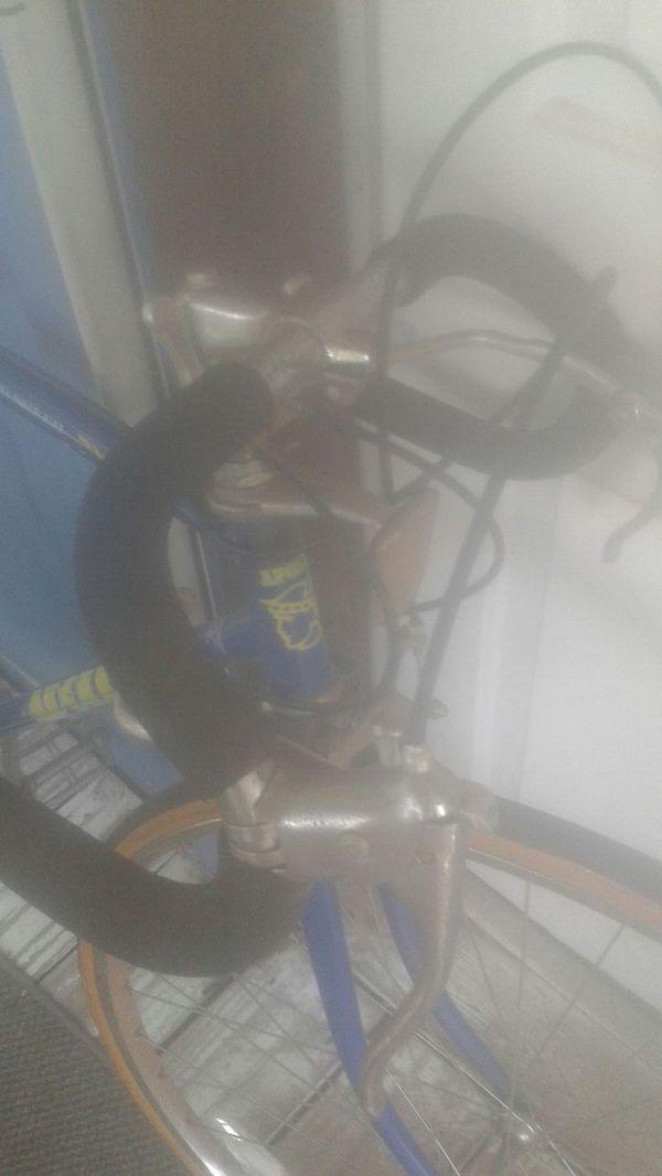 Apollo racer road bike blue mens