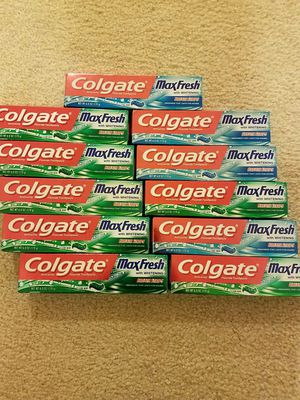 Colgate Maxfresh toothpaste - $2 each price firm for Sale in Rockville, MD