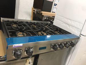 "Viking 36"" wide gas cooktop 6 burner for Sale in Los Angeles, CA"