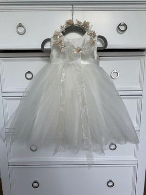 David's Bridal Dress and Headband Set - 18mo. for Sale in Chandler, AZ