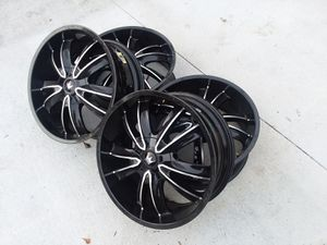 Black Rims (All 4) for Sale in Atlanta, GA