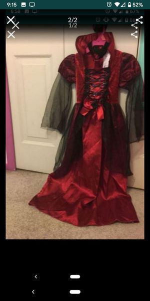 Vampire costume 4-6T for Sale in Pinellas Park, FL