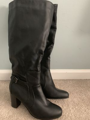 Black high heel boots for Sale in Ashburn, VA