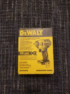 New Dewalt 20-Volt MAX Lithium-Ion 3/8 in. Cordless Compact Impact Wrench (Tool-Only) for Sale in Renton, WA