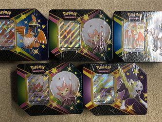 Pokémon Shining Fates Tins for Sale in Franconia,  VA