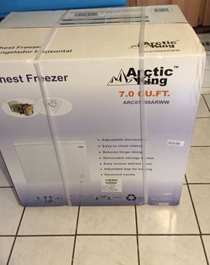 Chest freezer brand new for Sale in Providence, RI